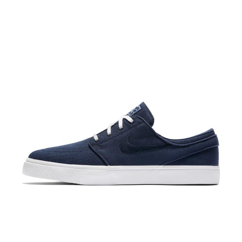 NIKE Nike SB Zoom Stefan Janoski Canvas Men's Skateboarding Shoe - Blue SOLEHEAVEN