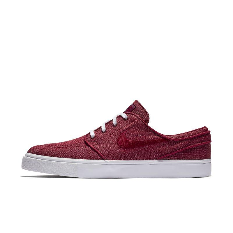 NIKE Nike SB Zoom Stefan Janoski Canvas Men's Skateboarding Shoe - Red SOLEHEAVEN