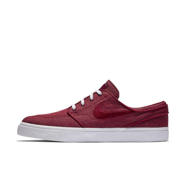 Nike SB Zoom Stefan Janoski Canvas Men's Skateboarding Shoe - Red