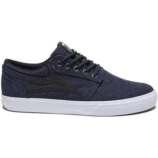 Lakai Griffin Skate Shoes - Midnight Textile