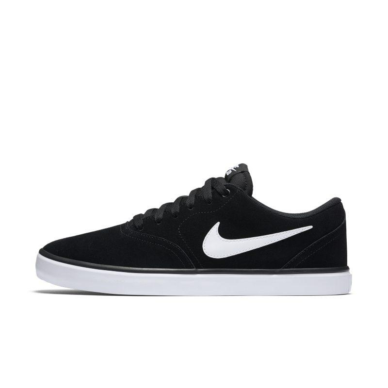 NIKE Nike SB Check Solarsoft Men's Skateboarding Shoe - Black SOLEHEAVEN