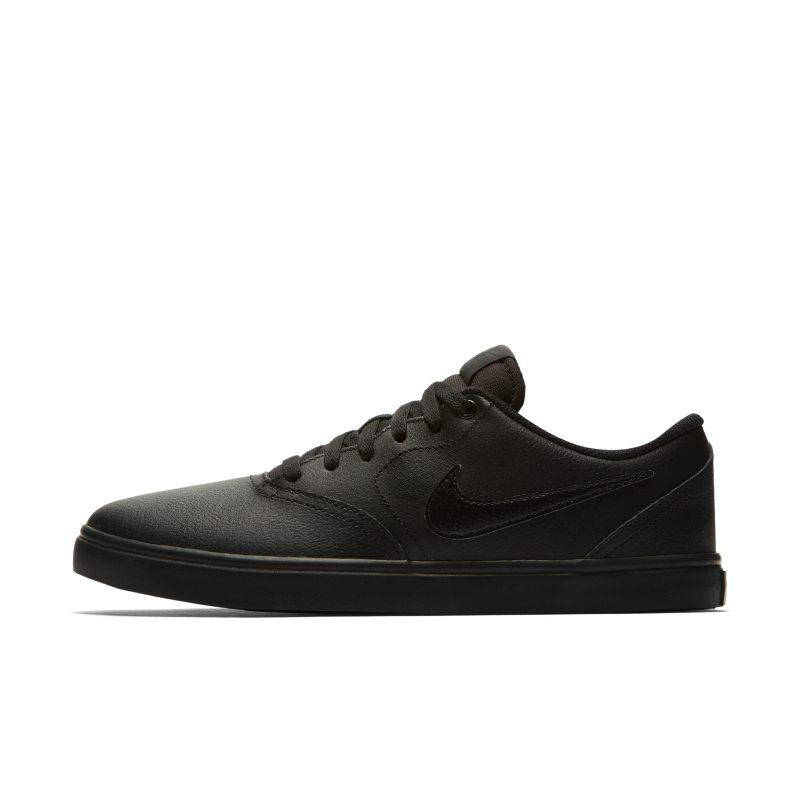 Nike SB Check Solarsoft Men's Skateboarding Shoe - Black