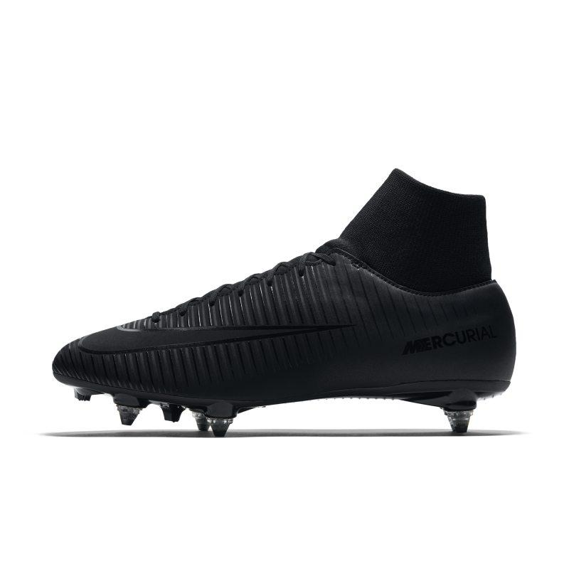 Nike Mercurial Victory VI Dynamic Fit Soft-Ground Football Boot - Black