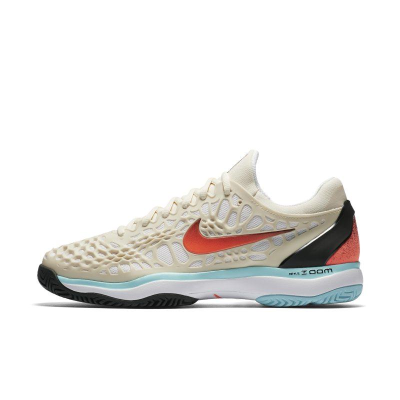 NIKE Nike Zoom Cage 3 HC Men's Tennis Shoe - Cream SOLEHEAVEN