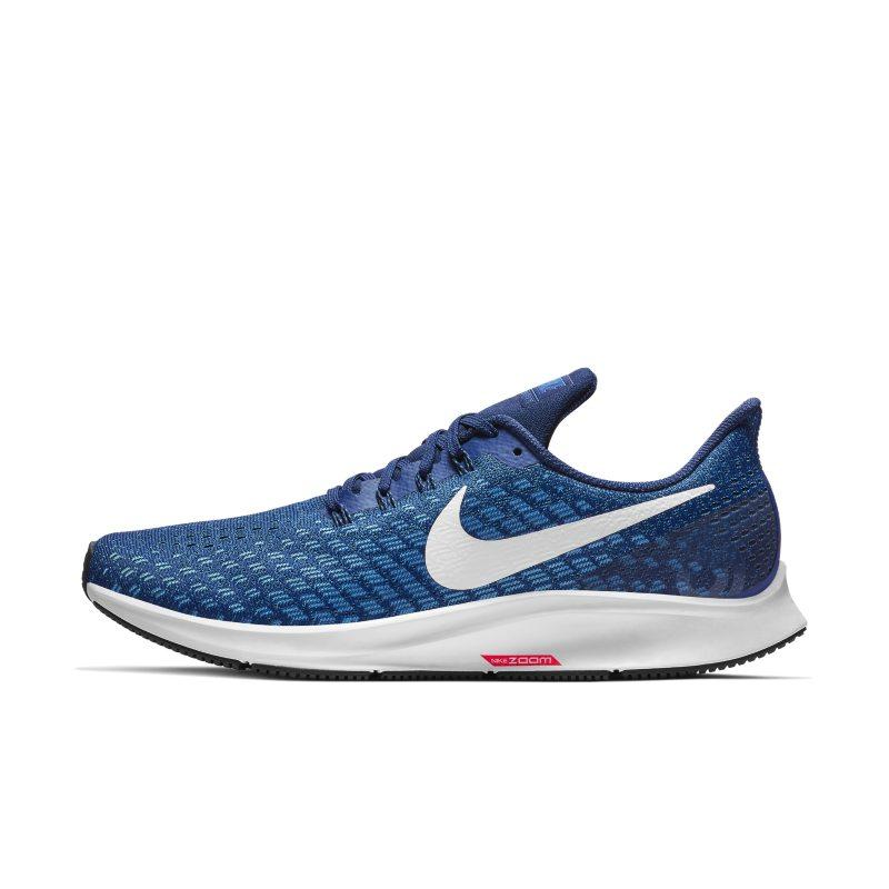 Nike Nike Air Zoom Pegasus 35 Men's Running Shoe - Blue SOLEHEAVEN