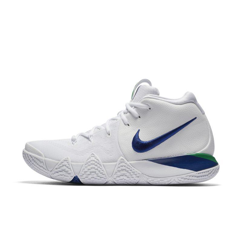 Nike Kyrie 4 Basketball Shoe - White SOLEHEAVEN