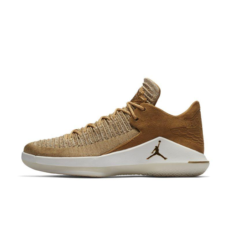 bfb5b875c9dc78 Nike Air Jordan XXXII Low Men s Basketball Shoe - Gold at Soleheaven ...