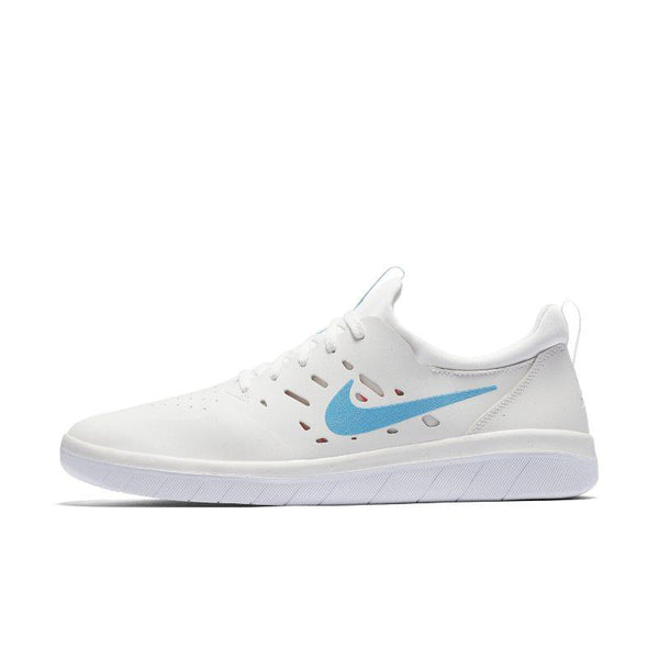 Nike SB Nyjah Men's Skateboarding Shoe - White