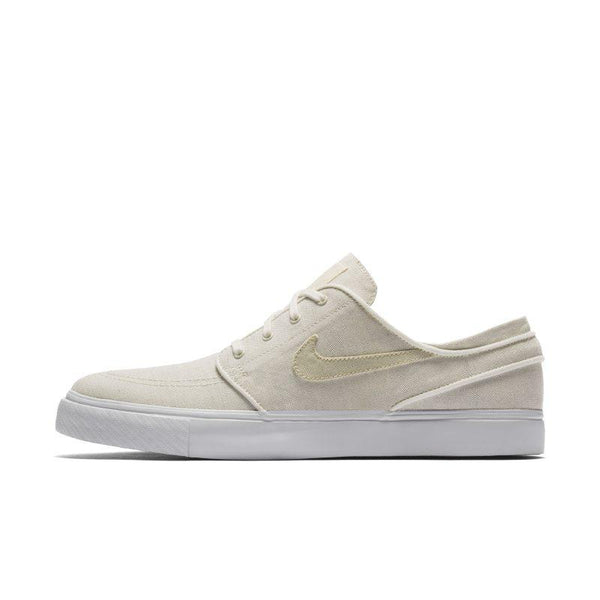 NIKE Nike SB Zoom Stefan Janoski Canvas Deconstructed Men's Skateboarding Shoe - Cream SOLEHEAVEN