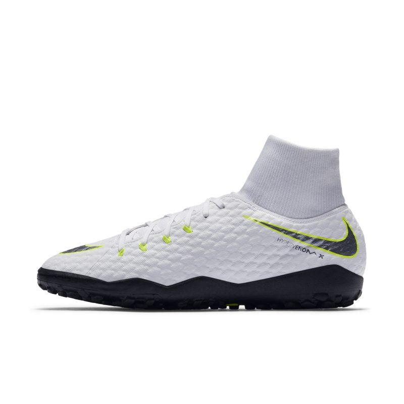 Nike Nike HypervenomX Phantom III Academy Dynamic Fit Just Do It Turf Football Shoe - White SOLEHEAVEN