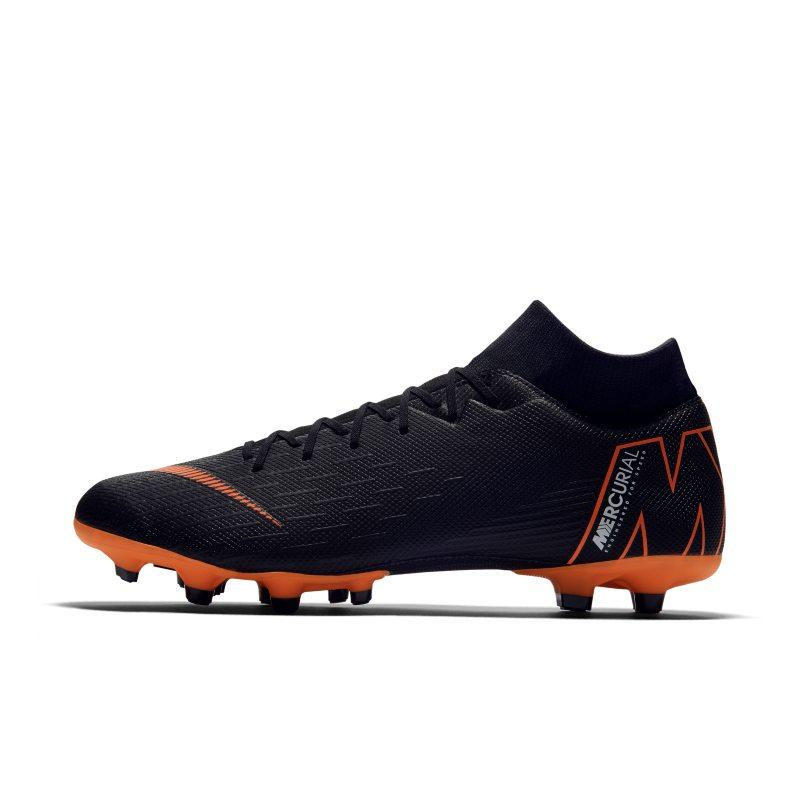 Nike Nike Mercurial Superfly VI Academy MG Multi-Ground Football Boot - Black SOLEHEAVEN