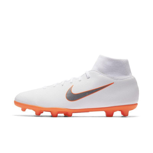Nike Mercurial Superfly VI Club MG Multi-Ground Football Boot - White
