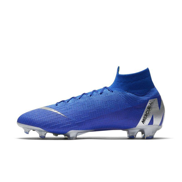 Nike Nike Mercurial Superfly 360 Elite Firm-Ground Football Boot - Blue SOLEHEAVEN