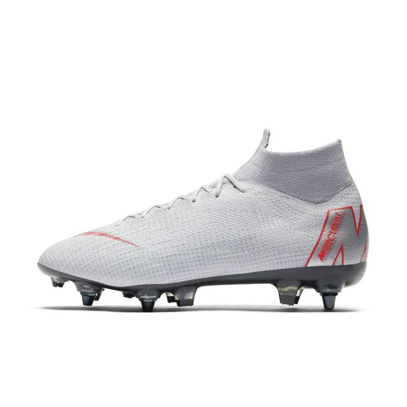 Nike Nike Mercurial Superfly 360 Elite SG-PRO Anti-Clog Soft-Ground Football Boot - Grey SOLEHEAVEN