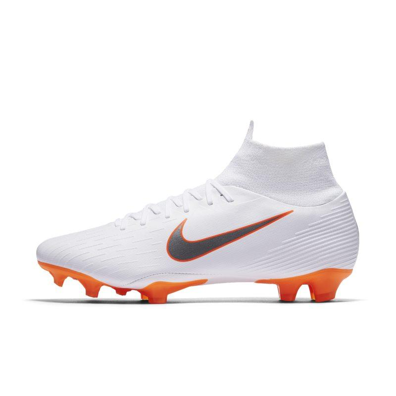 Nike Nike Mercurial Superfly VI Pro Just Do It Firm-Ground Football Boot - White SOLEHEAVEN