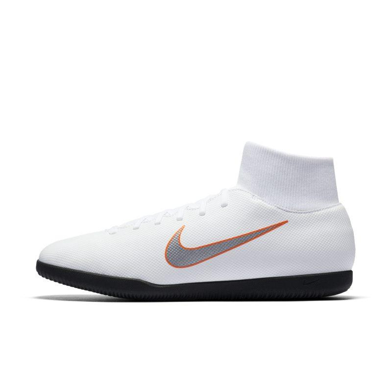 Nike Nike MercurialX Superfly VI Club Just Do It IC Indoor/Court Football Shoe - White SOLEHEAVEN