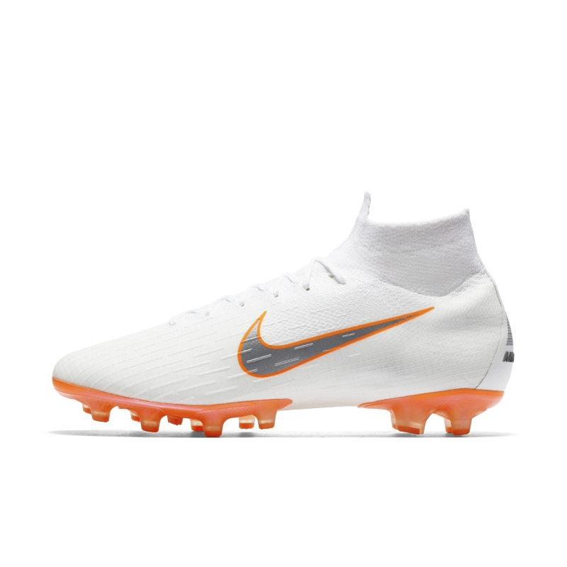 Nike Mercurial Superfly 360 Elite AG-PRO Just Do It Artificial-Grass Football Boot - White