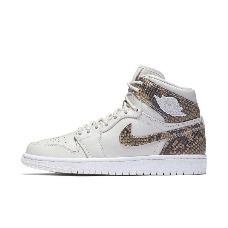 Nike Air Jordan 1 Retro High Premium Women's Shoe - Cream SOLEHEAVEN