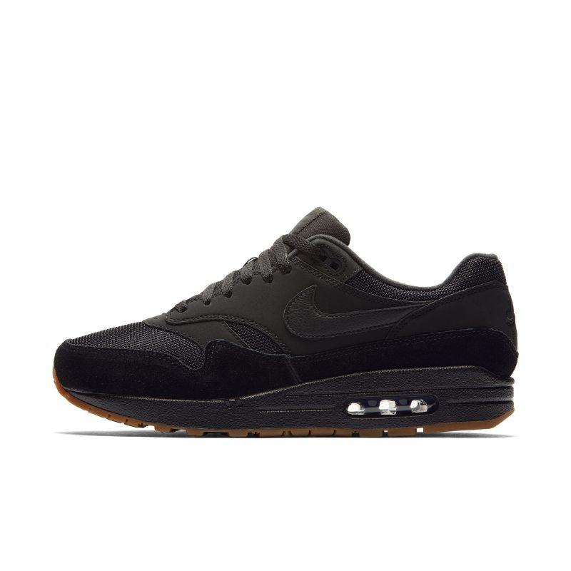 Nike Nike Air Max 1 Men's Shoe - Black SOLEHEAVEN