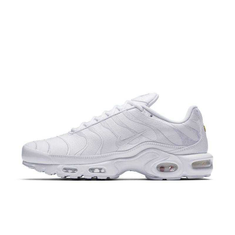 NIKE Nike Air Max Plus Men's Shoe - White SOLEHEAVEN