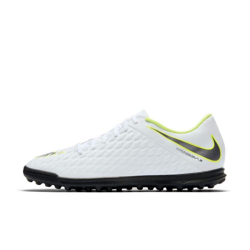 Nike Nike HypervenomX Phantom III Club Artificial-Turf Football Shoe - White SOLEHEAVEN