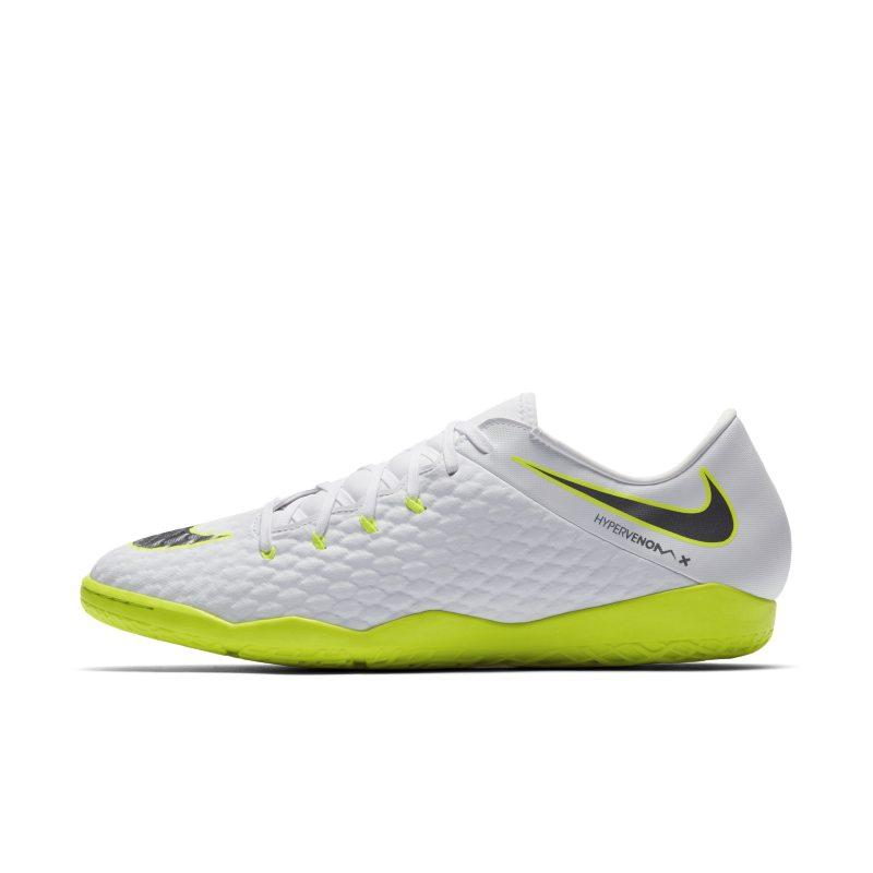 Nike Nike HypervenomX Phantom III Academy IC Indoor/Court Football Shoe - White SOLEHEAVEN