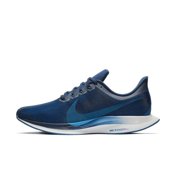 Nike Nike Zoom Pegasus Turbo Men's Running Shoe - Blue SOLEHEAVEN