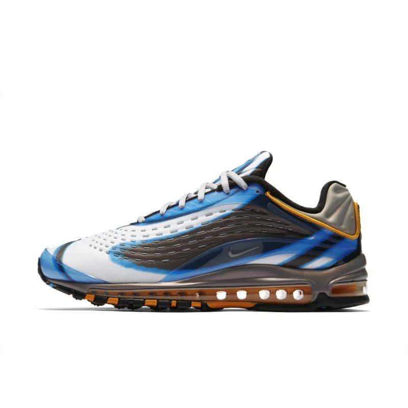 ea32a947c38f9 ... huge selection of 163ec 6b84b Nike Nike Air Max Deluxe Men s Shoe - Blue  SOLEHEAVEN