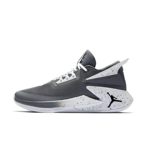 Jordan Fly Lockdown Men's Basketball Shoe - Grey
