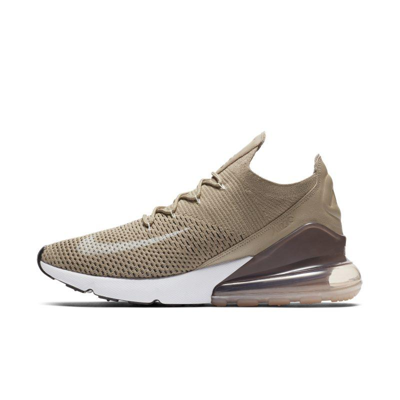 Nike Nike Air Max 270 Flyknit Men's Shoe Khaki at Soleheaven Curated Collections