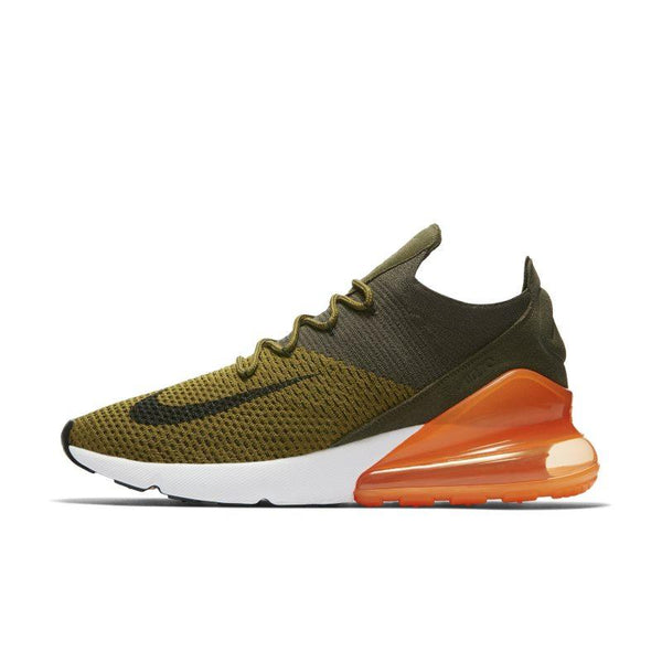 Nike Air Max 270 Flyknit Men's Shoe - Green