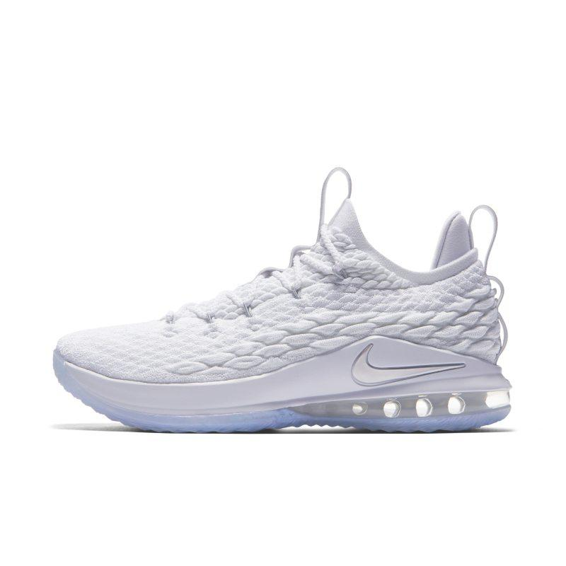 Nike LeBron 15 Low Basketball Shoe - White SOLEHEAVEN