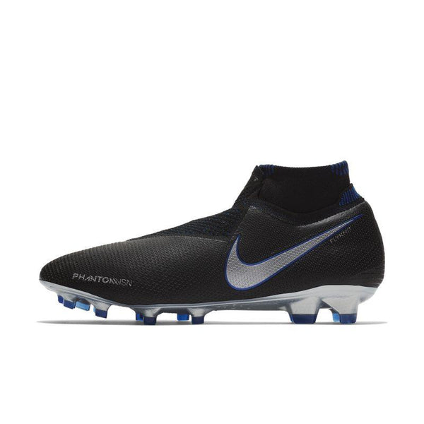 Nike Nike Phantom Vision Elite Dynamic Fit Firm-Ground Football Boot - Black SOLEHEAVEN