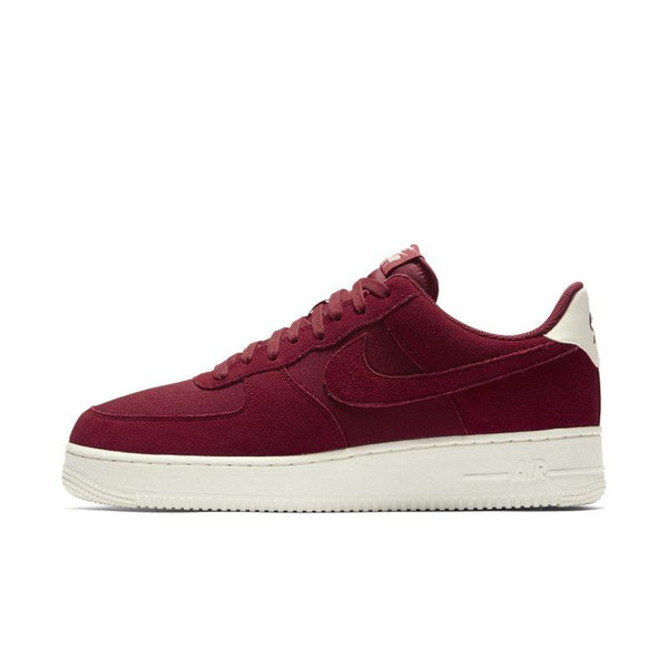 newest collection 62e40 0ee53 Nike Nike Air Force 1 07 Suede Men s Shoe - Red SOLEHEAVEN