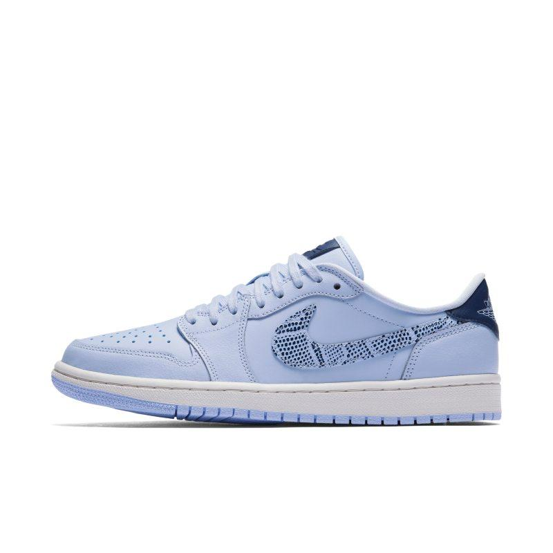 Nike Air Jordan 1 Retro Low OG Women's Shoe - Blue SOLEHEAVEN