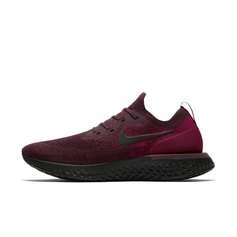 Nike Nike Epic React Flyknit Men's Running Shoe - Red SOLEHEAVEN