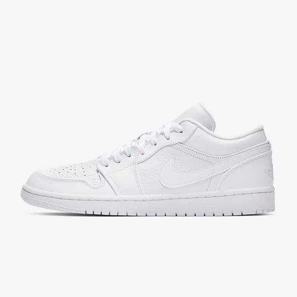 Air Jordan Air Jordan 1 Low 'Triple White' SOLEHEAVEN