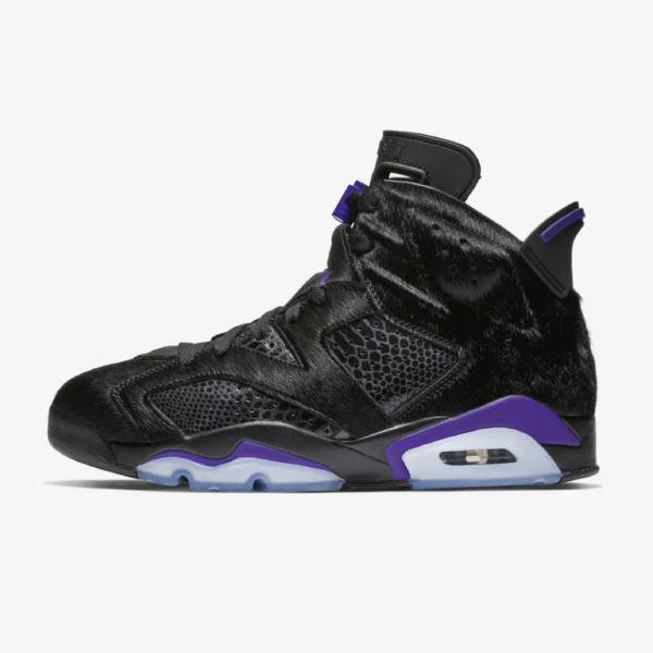 Air Jordan Air Jordan 6 Pony Hair 'Black / Concord' SOLEHEAVEN