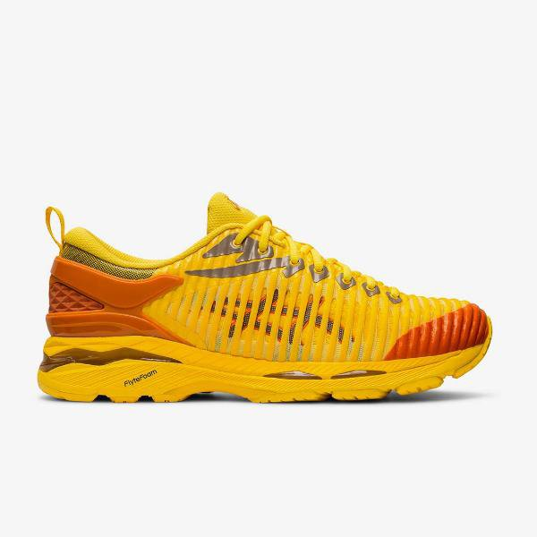 Asics Asics Gel Delva 1 x Kiko Kostadinov 'Yellow / Orange' SOLEHEAVEN