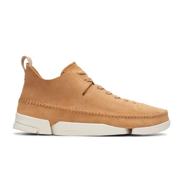 lifestyle Clarks Originals Trigenic Flex 'Light Tan' SOLEHEAVEN