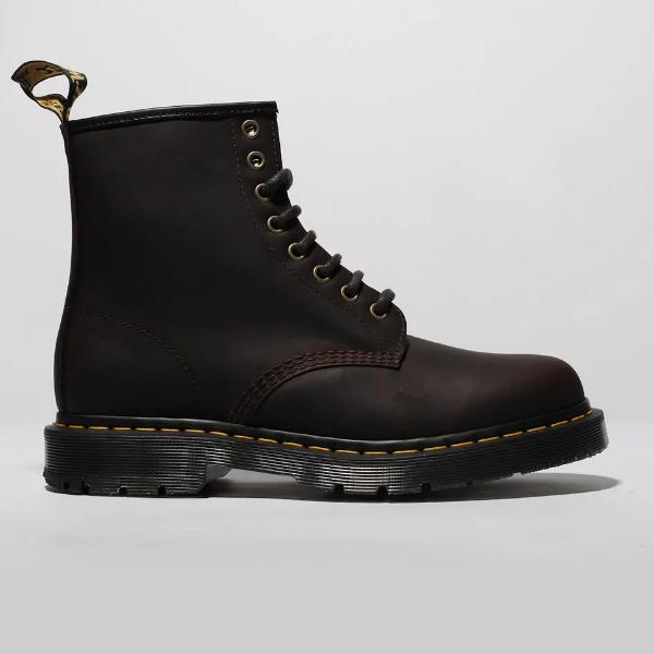 Dr. Martens Dr. Marten 1460 8 Eye Wintergrip 'Dark Brown' SOLEHEAVEN