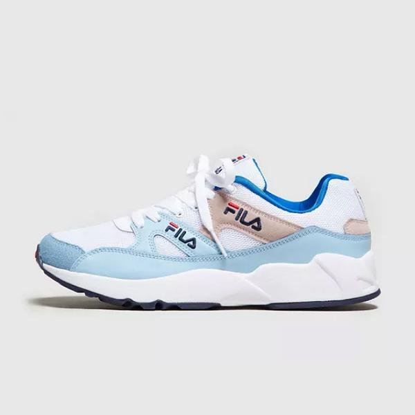 153d893a8766 FROM JD SPORTS EXCLUSIVE. Fila Fila Urban Runner  White   Blue  SOLEHEAVEN
