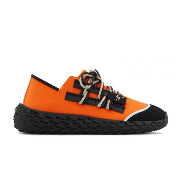 luxury trainers Giuseppe Zanotti Urchin 'Orange' SOLEHEAVEN