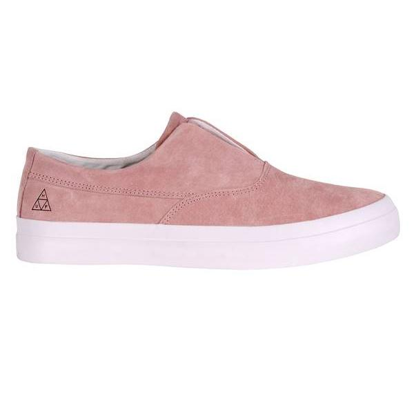 Huf Huf Dylan Slip On Skate Shoes - Pink SOLEHEAVEN