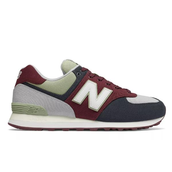 New Balance New Balance 574 'Burgundy Light Cyclone' at Soleheaven Curated Collections