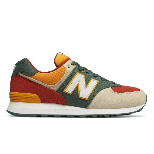 New Balance New Balance 574 'Faded Rosin / Vintage Russet' at Soleheaven  Curated Collections