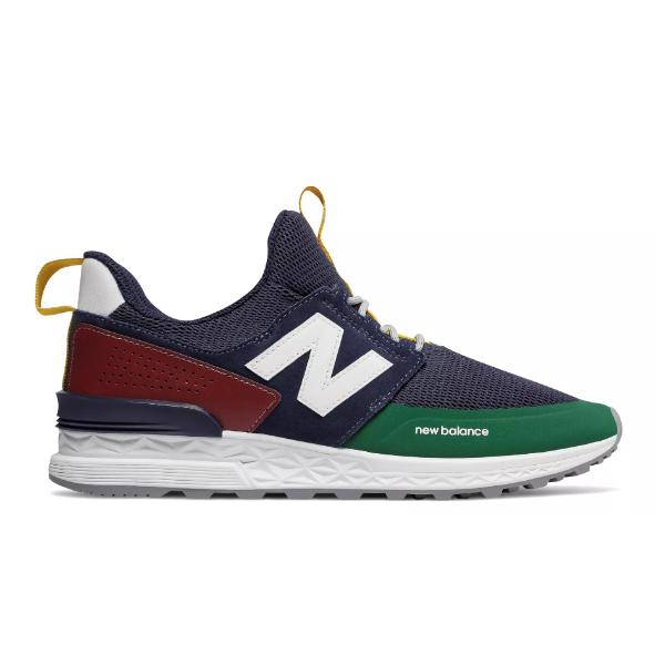 New Balance New Balance 574 Sport 'Pigment / Scarlet' SOLEHEAVEN