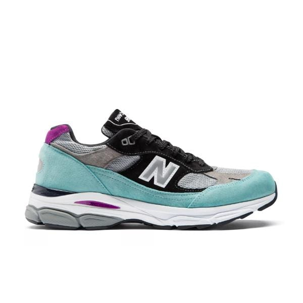 New Balance New Balance 991.9 'Made In UK' Tidepool / Grey' SOLEHEAVEN