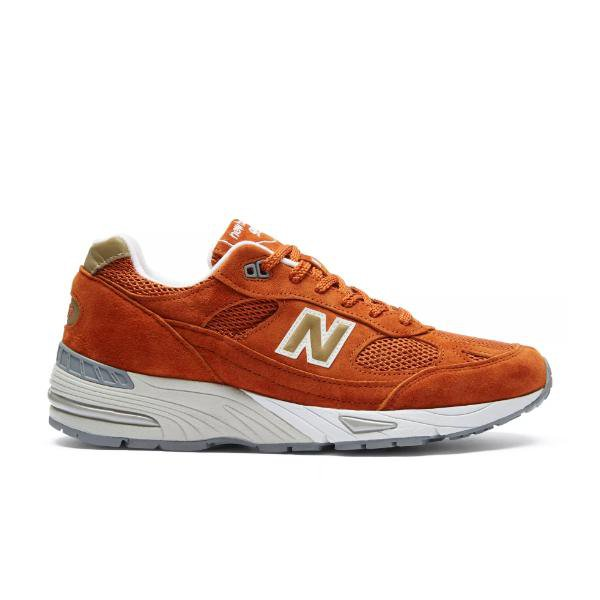 New Balance New Balance 991 Made In UK 'Burnt Orange' SOLEHEAVEN