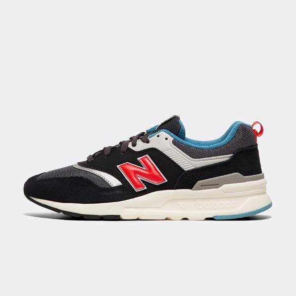 new balance black and red